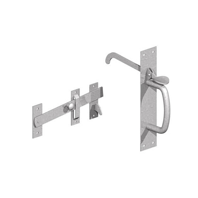 SUFFOLK LATCHES LONG THUMB BIT | LIGHT BZP