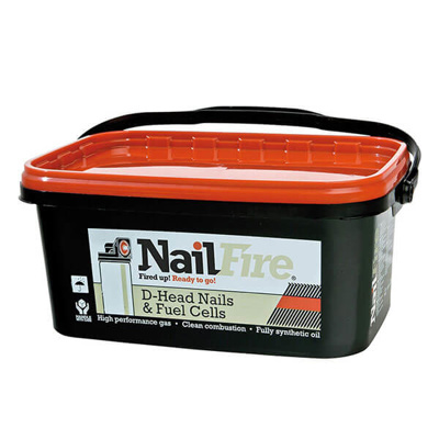 NAILFIRE HANDIPK RING NLS-1000 | 50X2.9MM E/GLV TUB 1000