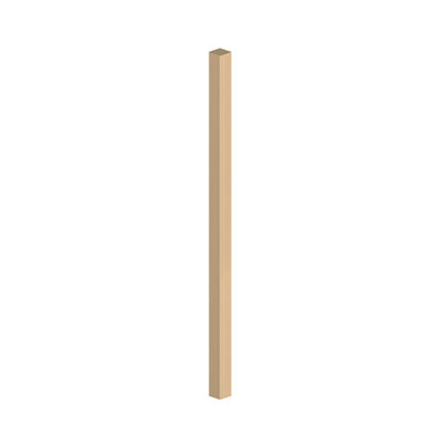SQUARE SPINDLE FOR DECKING | 895X40X40MM GREEN TREAT