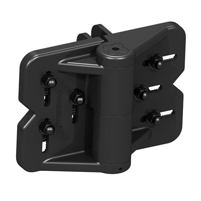 GM HEAVY ADJUSTABLE S/C HINGES | SUIT 50-100MM POST UP TO