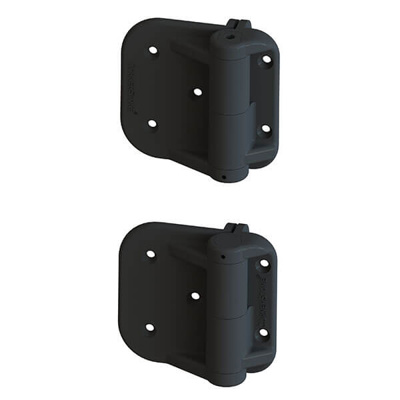 GM OFFSET SELF CLOSING HINGES | 100MM, UP TO 25KG