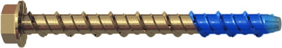 SM MASONRY BOLTS | DRILL 6MM 6X130MM Y/BZP